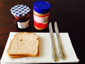 Peanut butter and jelly supplies