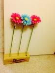 Flowers in the doorstop