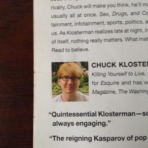 A beardless Mr. Klosterman