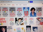 Google Images search for Judy Blume In the Unlikely Event