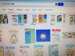 Google Images search for Judy Blume Fudge