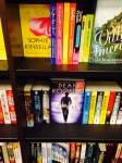 Twenties Girl just above the Dean Koontz books